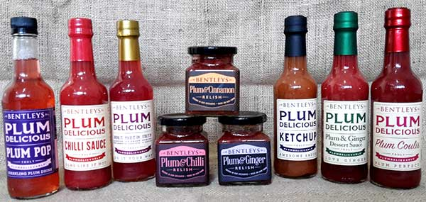 Bentleys Plum Delicious Range with Plum Relishes