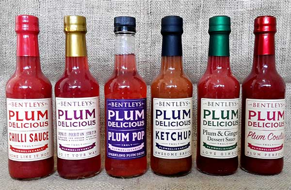 Bentleys Plum Delicious Range